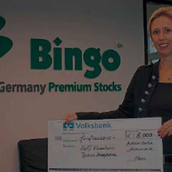 Spende der Firma Bingo Germany GmbH – Kinderheim erhält 5000 Euro